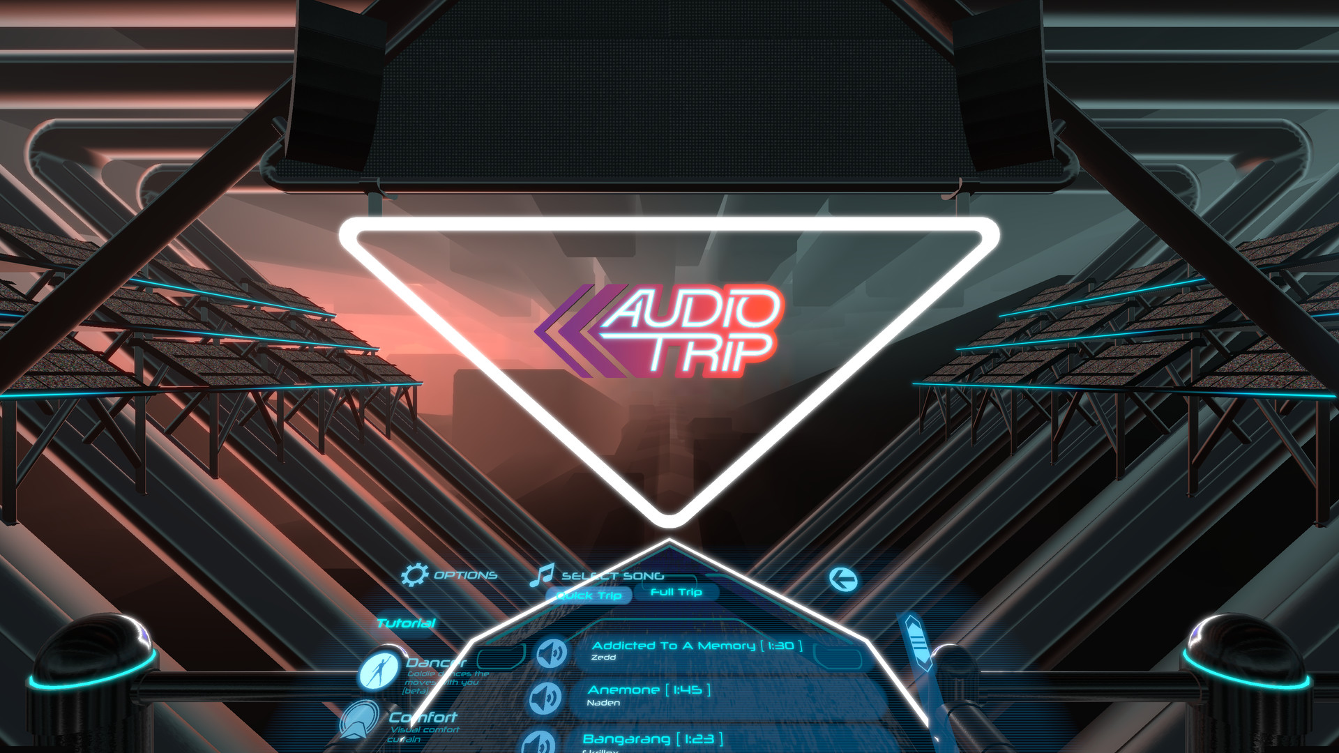Audio Trip screenshot