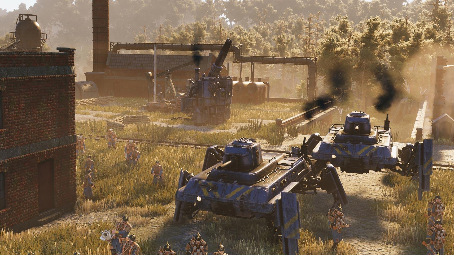 Compre Iron Harvest no Steam durante a pré-venda