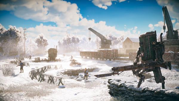 скриншот Iron Harvest 3