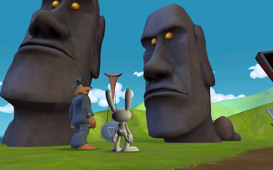Скриншот из Sam & Max 202: Moai Better Blues