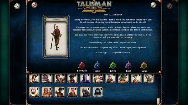 скриншот Talisman - Character Pack #18 Pathfinder 0
