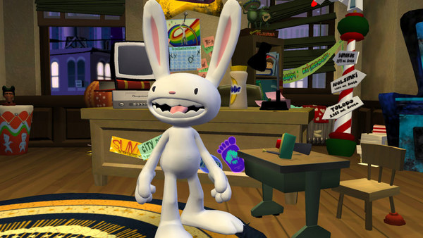 Скриншот из Sam & Max 204: Chariots of the Dogs