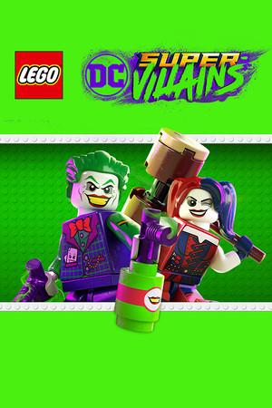 LEGO DC Super-Villains poster image on Steam Backlog