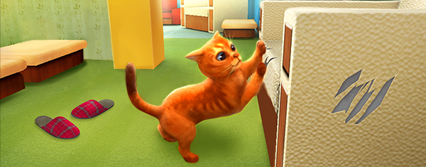 Come to the cat world, full of places to explore, breathtaking missions,  special cat games, chases, pranks, and fun!