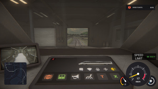Capture d'écran n°4 du Jeu Subway Simulator: Cyber Train