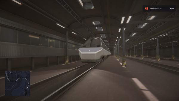 Capture d'écran n°2 du Jeu Subway Simulator: Cyber Train