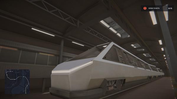 Capture d'écran n°3 du Jeu Subway Simulator: Cyber Train