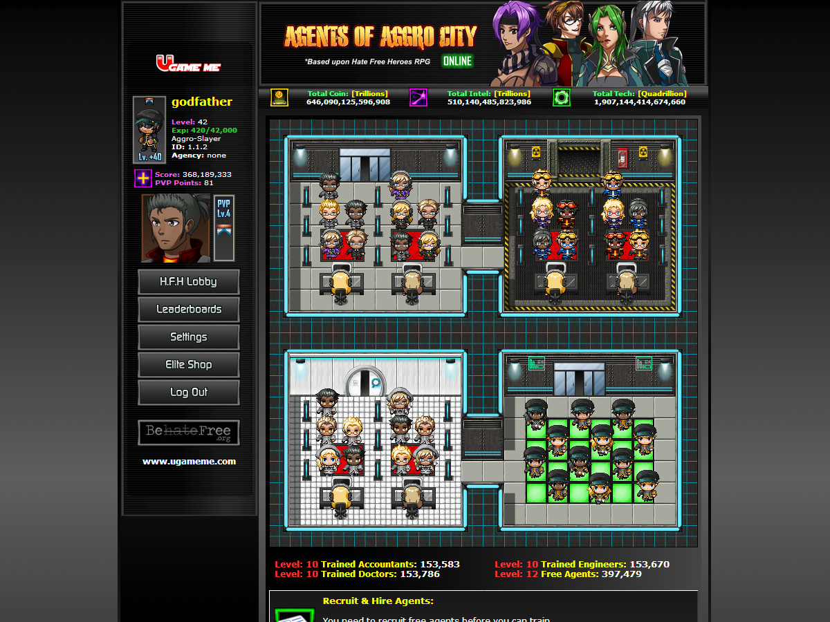 Agents of Aggro City Online (Browser MMO) on Steam