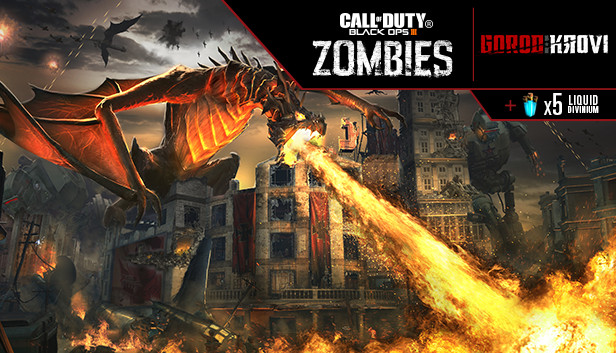 Call Of Duty Black Ops Iii Gorod Krovi Zombies Map On Steam