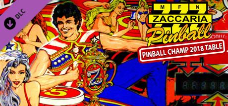 Zaccaria Pinball - Pinball Champ 2018 Table