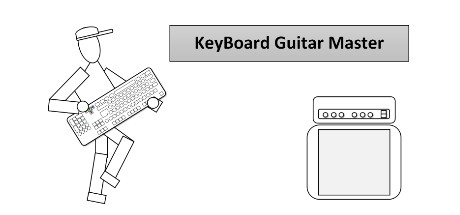 KeyBoard Guitar Master