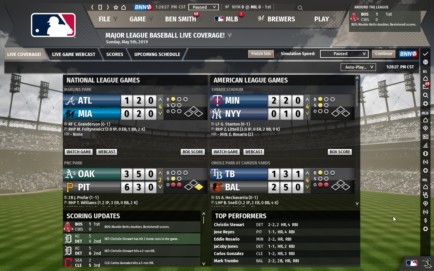 Out of the Park Baseball 20 Screenshot 3