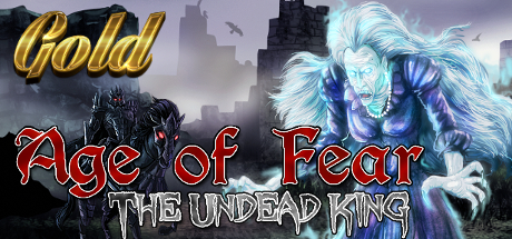 Age of Fear The Undead King GOLD Capa