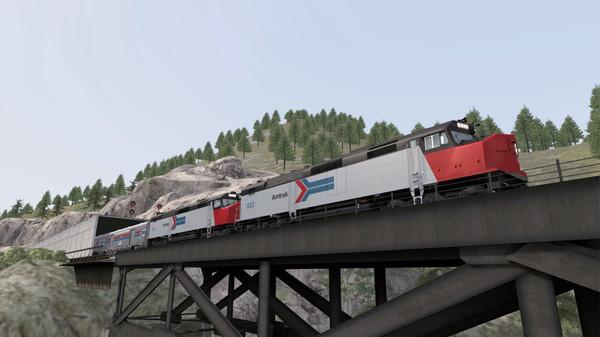 скриншот Train Simulator: Amtrak SDP40F Loco Add-On 5