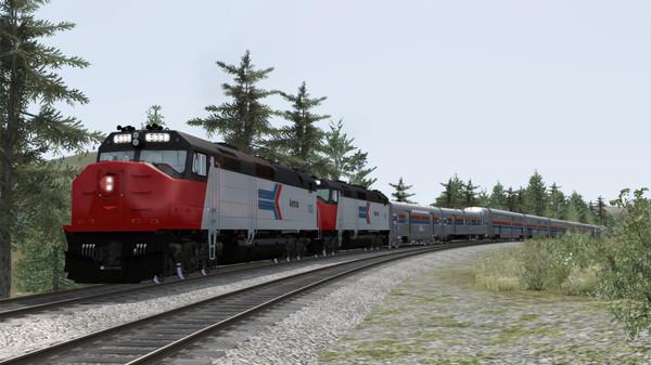 скриншот Train Simulator: Amtrak SDP40F Loco Add-On 0