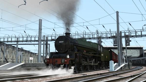 скриншот Train Simulator: LMS 5XP Jubilee Class Steam Loco Add-On 0