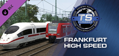 Train Simulator: Frankfurt High Speed: Frankfurt – Karlsruhe Route Extension Add-On