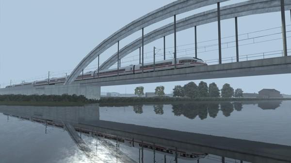 скриншот Train Simulator: Frankfurt High Speed: Frankfurt – Karlsruhe Route Extension Add-On 2