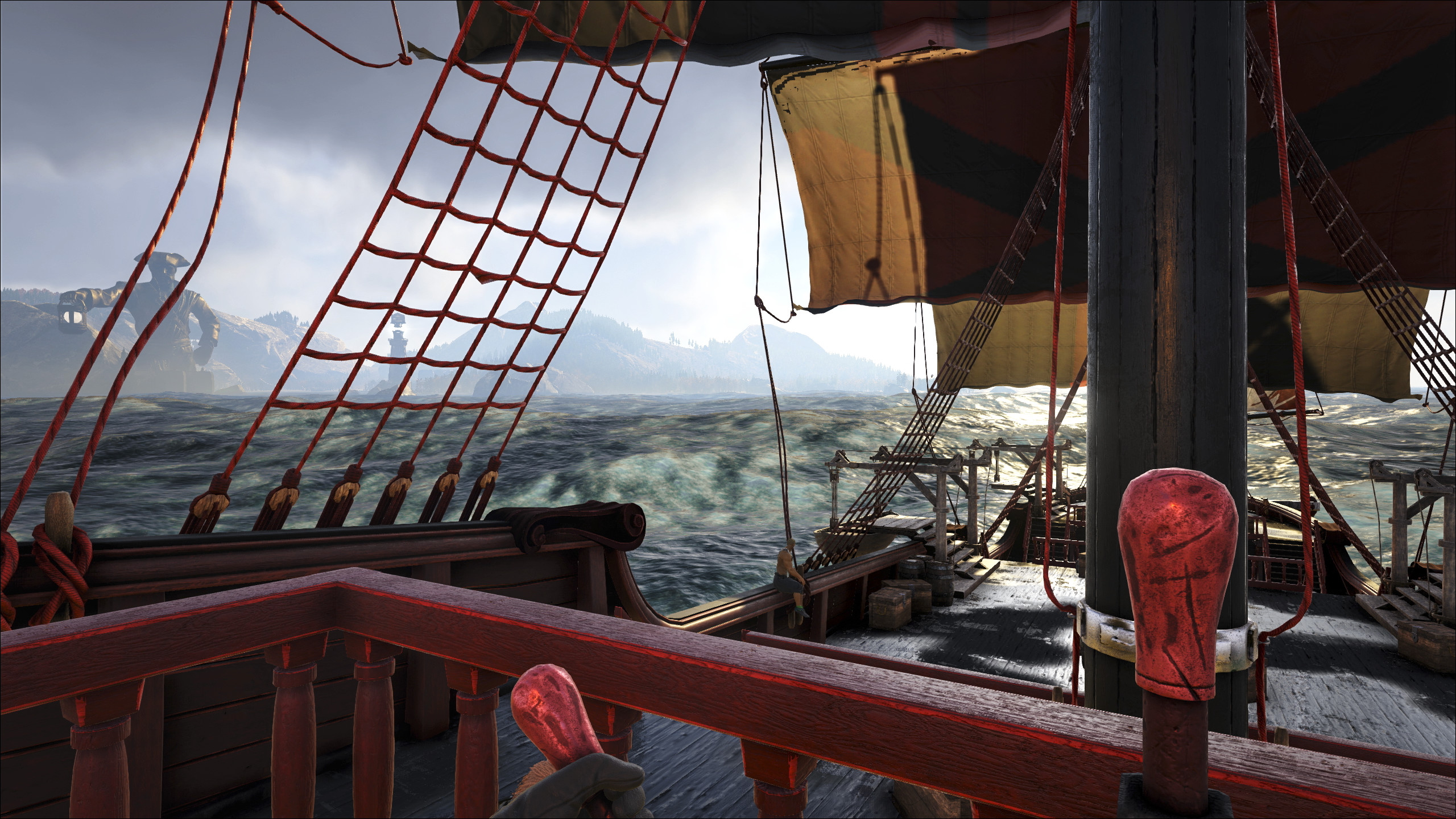 Warframe pirate ship