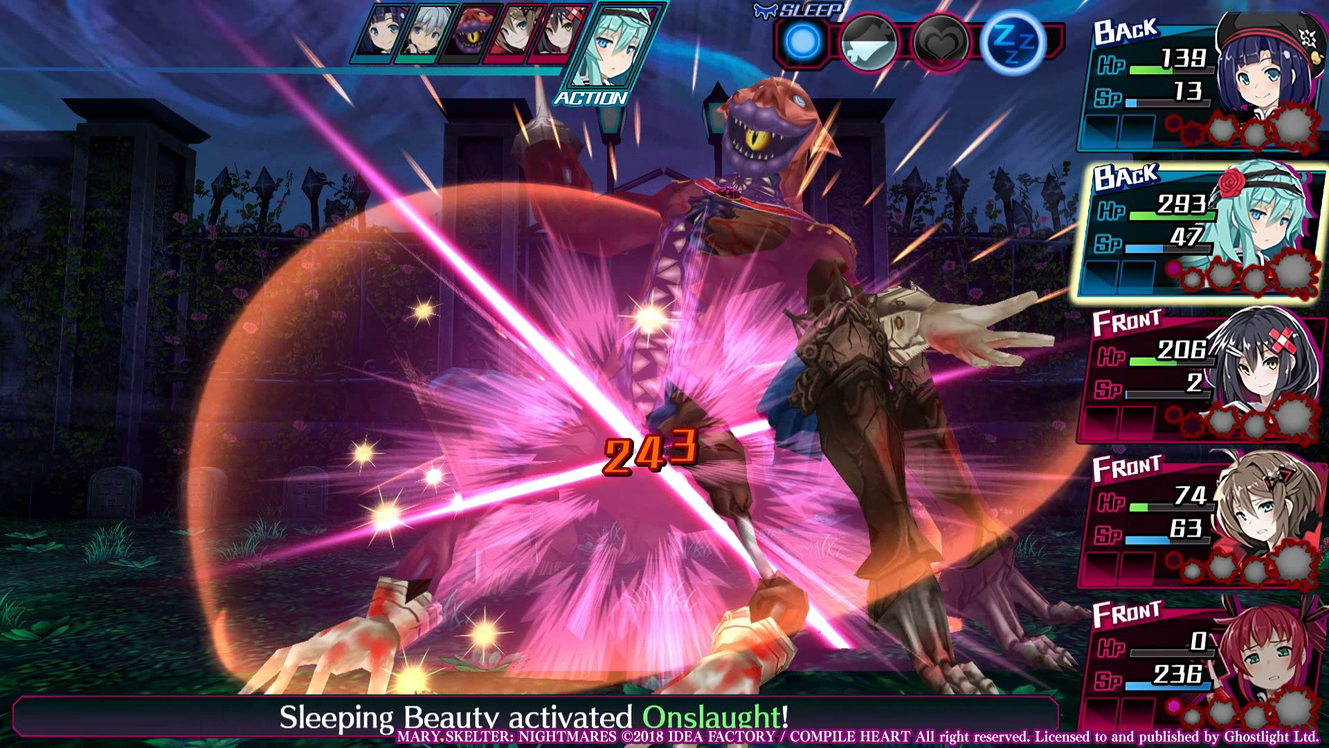 Mary Skelter: Nightmares screenshot 3
