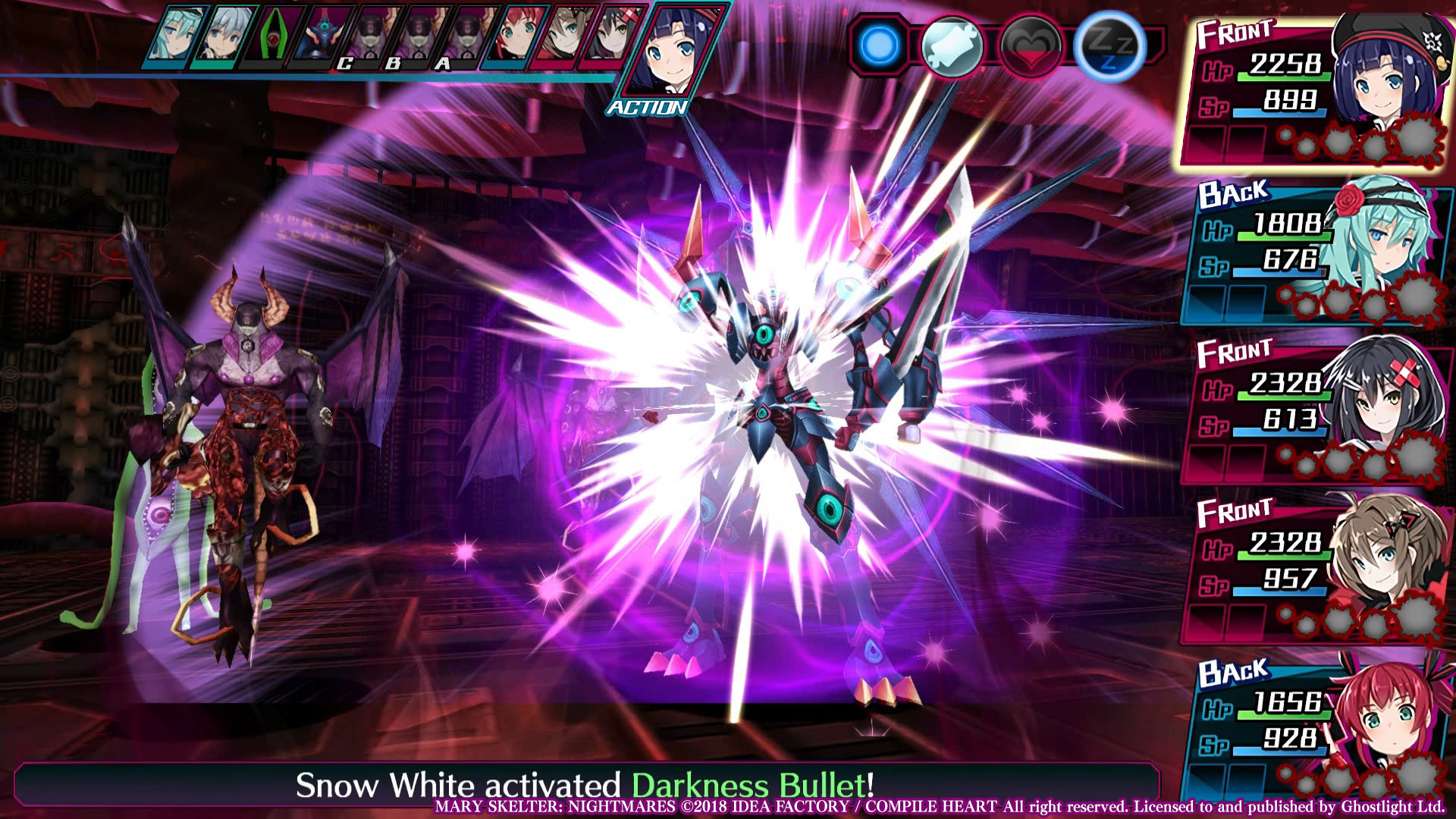 Mary Skelter: Nightmares screenshot 1
