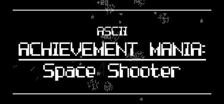 ASCII Achievement Mania Space Shooter