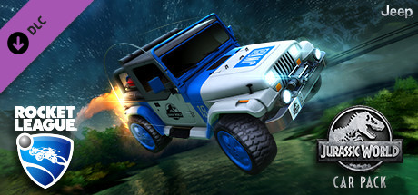 Rocket League Jurassic World Car Pack Capa