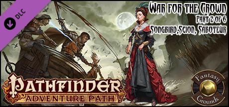 Купить Fantasy Grounds - Pathfinder RPG - War for the Crown AP 2: Songbird, Scion, Saboteur (PFRPG) (DLC)
