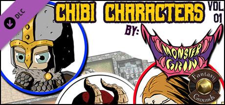 Купить Fantasy Grounds - Chibi Characters Vol 1 (Token Pack) (DLC)