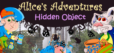 Alice's Adventures. Hidden Object Header