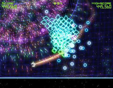 Скриншот из Geometry Wars: Retro Evolved