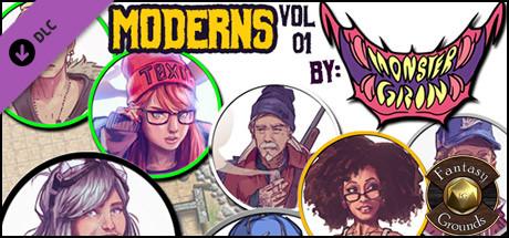 Купить Fantasy Grounds - Moderns Vol 01 (Token Pack) (DLC)