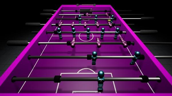 Virtual Foosball