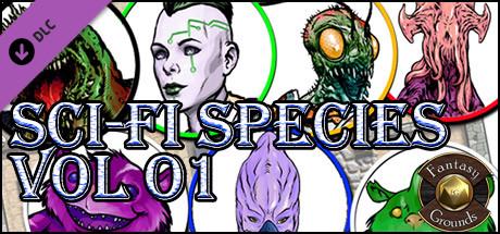 Купить Fantasy Grounds - Sci-fi Species Vol 1 (Token Pack) (DLC)