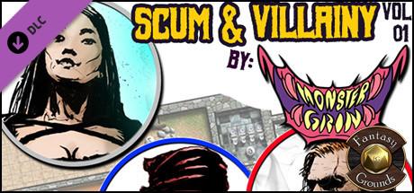 Купить Fantasy Grounds - Scum & Villainy Vol 1 (Token Pack) (DLC)