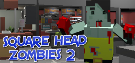 Square Head Zombies 2 - FPS Game cover art