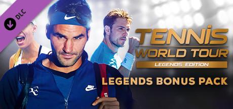 Купить Tennis World Tour - Legends Bonus Pack (DLC)
