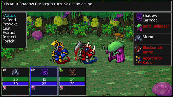 Screenshot of Siralim 3
