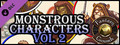 Fantasy Grounds - Monstrous Characters Vol 2 (Token Pack)-dlc