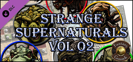 Fantasy Grounds - Strange Supernaturals Vol 2 (Token Pack)