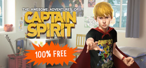 The Awesome Adventures of Captain Spirit cover art