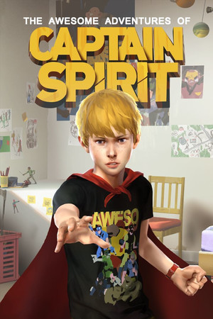 The Awesome Adventures of Captain Spirit poster image on Steam Backlog