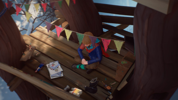 скриншот The Awesome Adventures of Captain Spirit 1