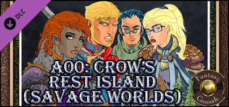Купить Fantasy Grounds - A00: Crow's Rest Island (Savage Worlds) (DLC)