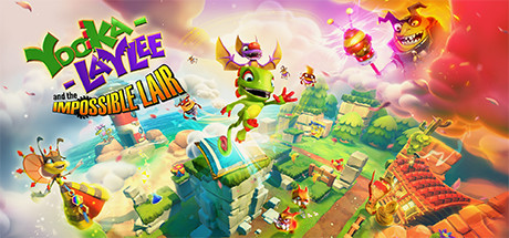 YookaLaylee and the Impossible Lair Capa
