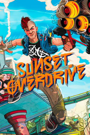 Sunset Overdrive poster image on Steam Backlog