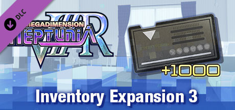 Megadimension Neptunia VIIR - Inventory Expansion 3 | インベントリ拡張 3 | 物品欄擴充 3