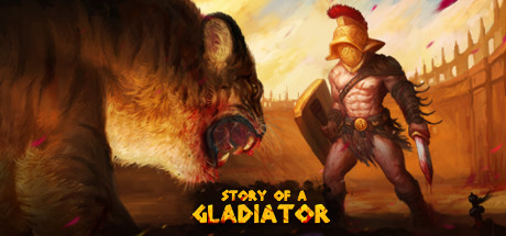Story of a Gladiator Capa