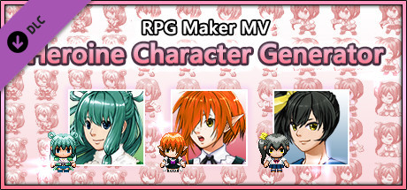 RPG Maker MV - Heroine Character Generator on Steam