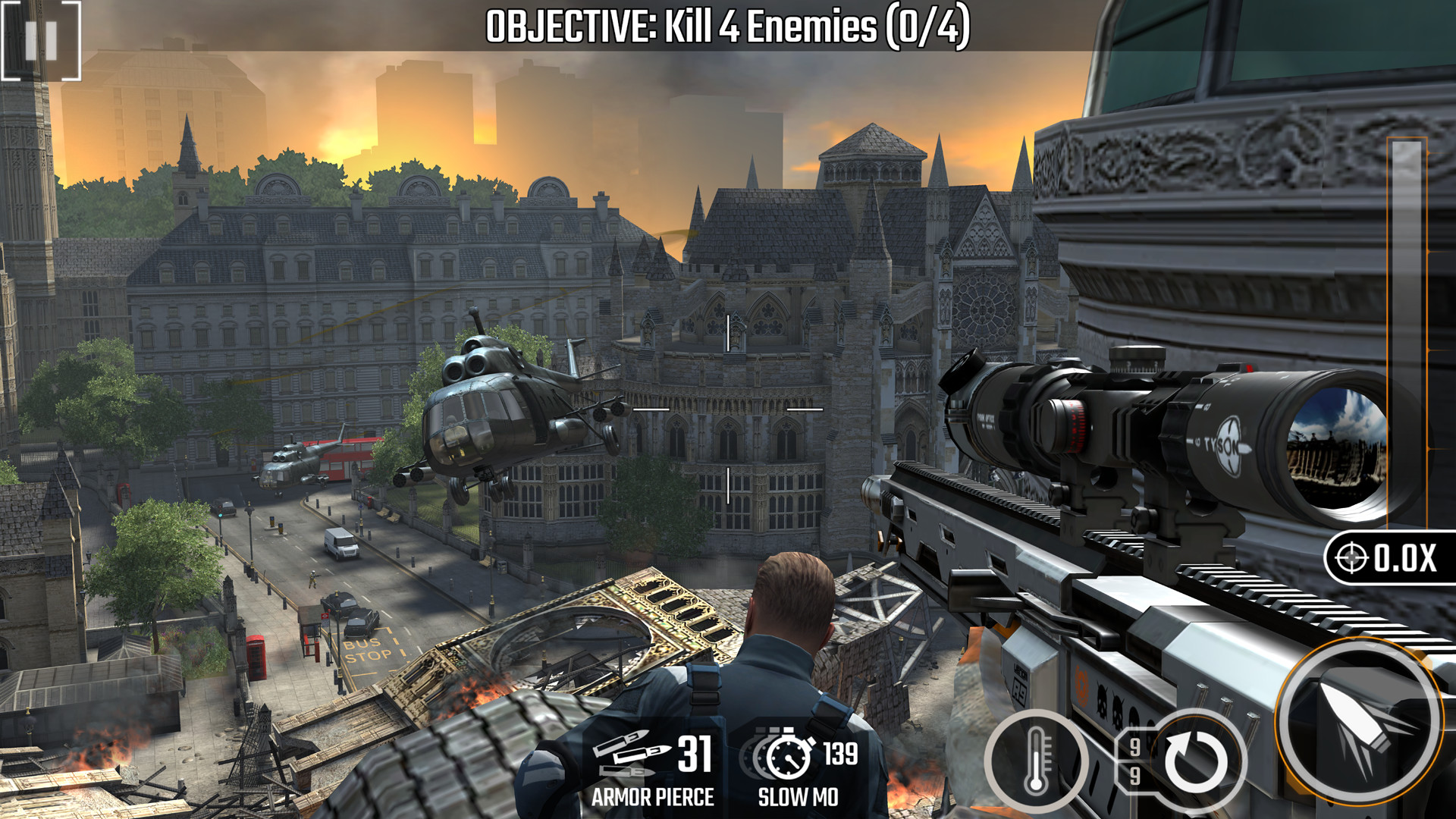أفضل الألعاب على أندرويد 2020 - لعبة Sniper Strike : Special Ops